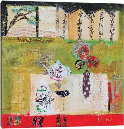 Green Tea Canvas Art Print