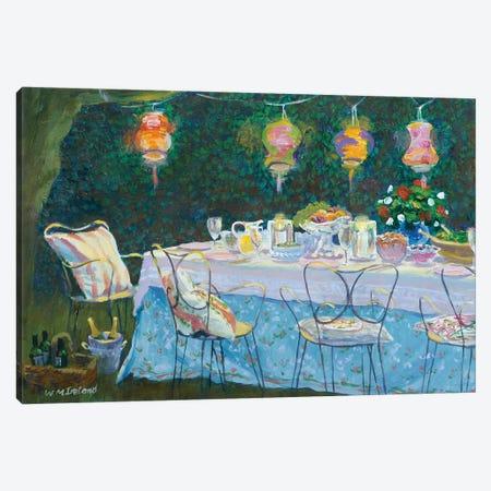 Al Fresco Canvas Print #BMN11837} by William Ireland Canvas Artwork