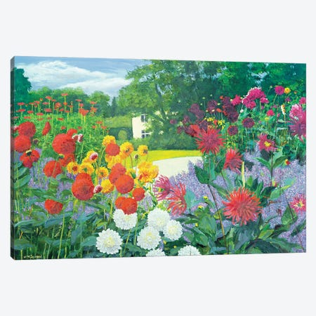 Garden And House Canvas Print #BMN11843} by William Ireland Canvas Artwork