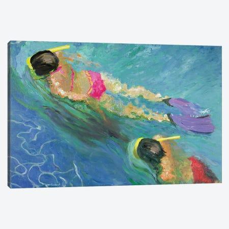 Pursuit, 2005 Canvas Print #BMN11848} by William Ireland Canvas Wall Art
