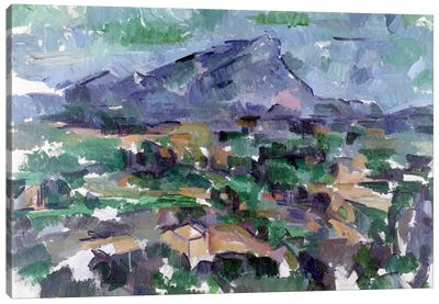 Montagne Sainte-Victoire, 1904-06  Canvas Art Print