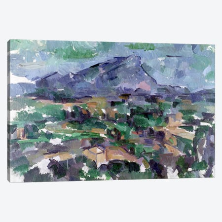 Montagne Sainte-Victoire, 1904-06  Canvas Print #BMN1184} by Paul Cezanne Canvas Artwork