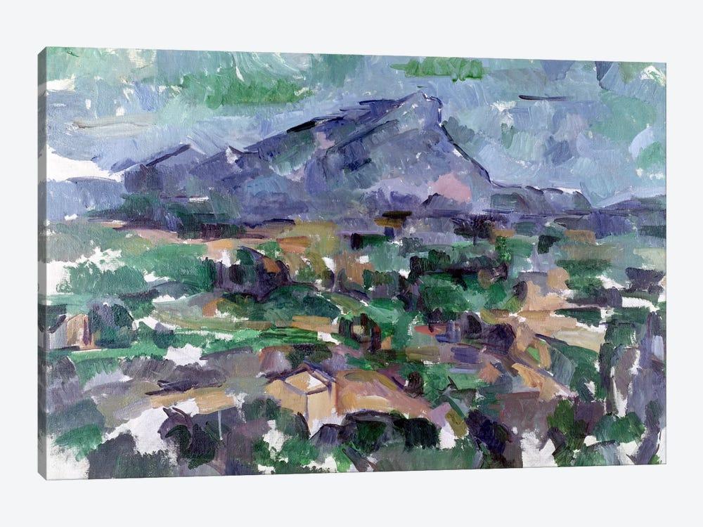 Montagne Sainte-Victoire, 1904-06  by Paul Cezanne 1-piece Canvas Wall Art