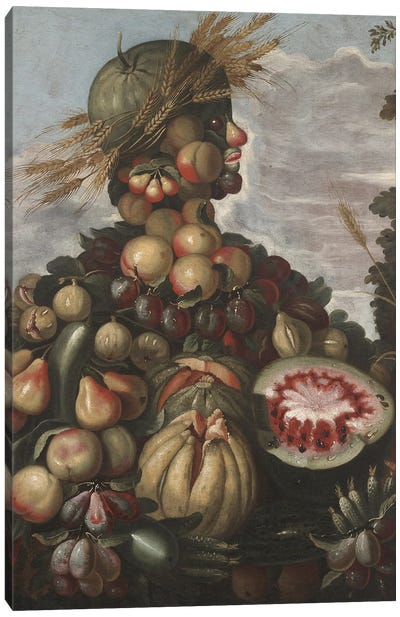 Autumn, C.1580-1600 Canvas Art Print