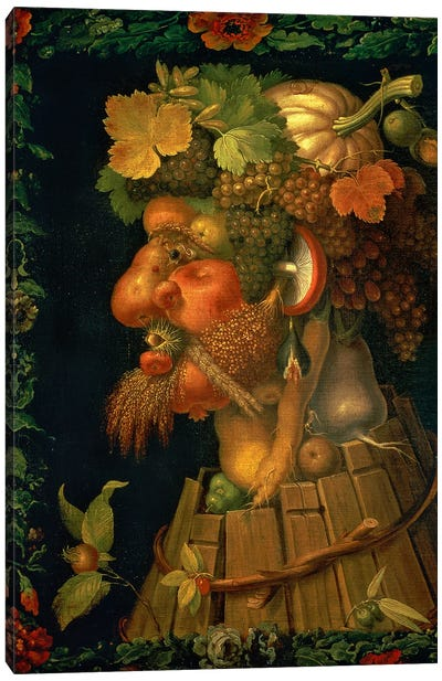 Autumn, From A Series Depicting The Four Seasons, 1573 Canvas Art Print