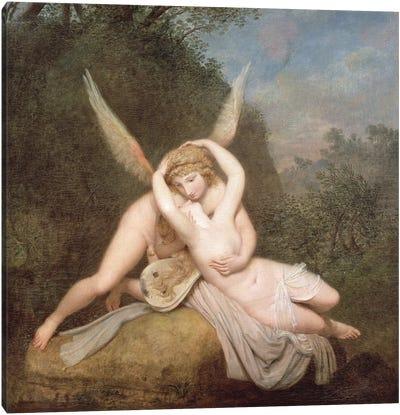Cupid And Psyche Canvas Art Print