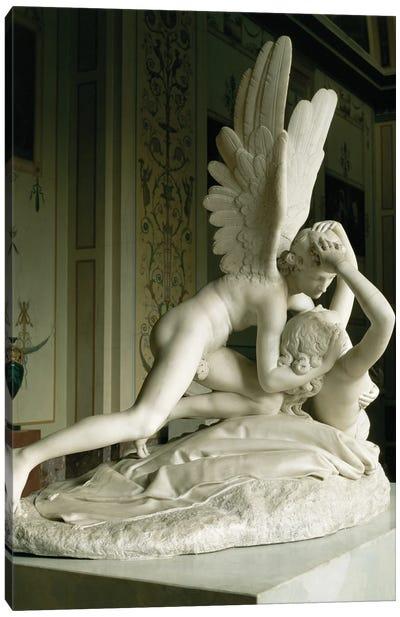 Cupid And Psyche, 1796 Canvas Art Print