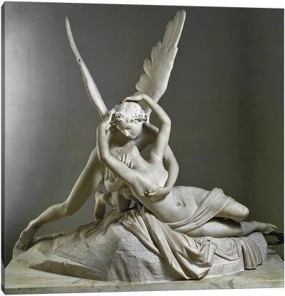 L'Amour Savant Psychee, 1787-1793 Canvas Art Print