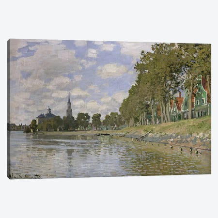 Zaandam  Canvas Print #BMN1186} by Claude Monet Canvas Wall Art