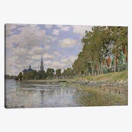 Zaandam  Canvas Print #BMN1186} by Claude Monet Canvas Wall Art