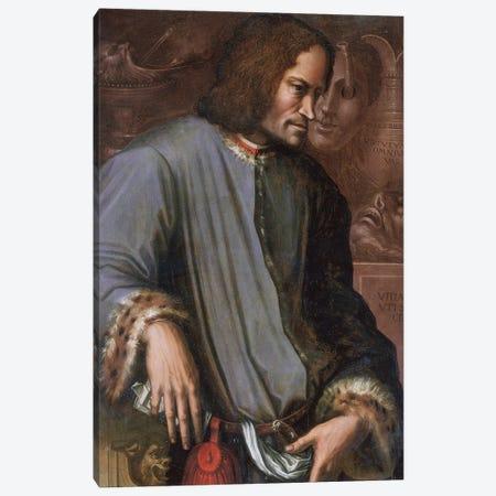 Lorenzo De Medici 'The Magnificent' Canvas Print #BMN11874} by Giorgio Vasari Canvas Art