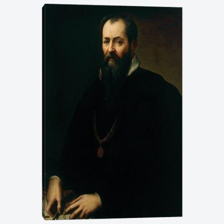 Self-Portrait Canvas Print #BMN11877} by Giorgio Vasari Canvas Artwork