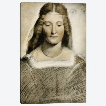 Female Portrait Canvas Print #BMN11880} by Giovanni Antonio Boltraffio Canvas Wall Art