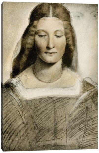 Female Portrait Canvas Art Print