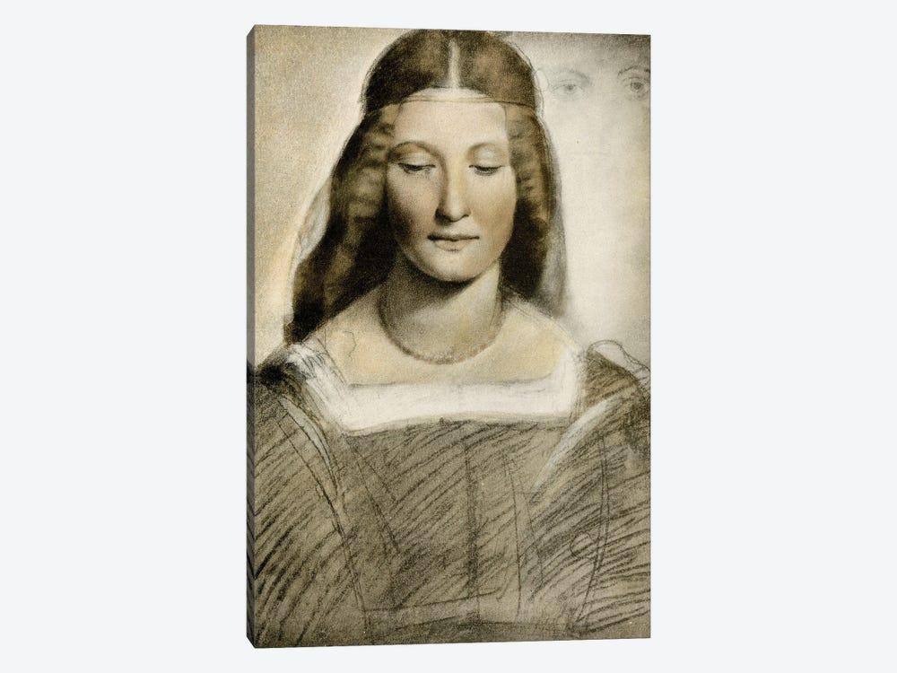 Female Portrait by Giovanni Antonio Boltraffio 1-piece Canvas Print