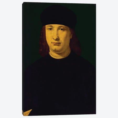 The Poet Casio, C.1495-1500 Canvas Print #BMN11884} by Giovanni Antonio Boltraffio Canvas Art Print
