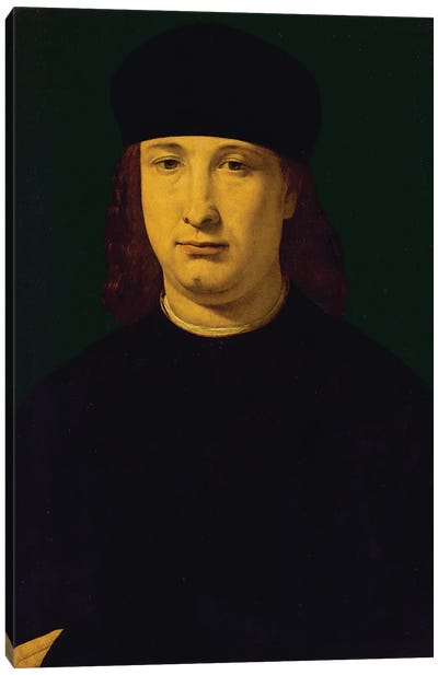 The Poet Casio, C.1495-1500 Canvas Art Print