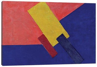 Composition, 1918 (oil on canvas) Canvas Art Print
