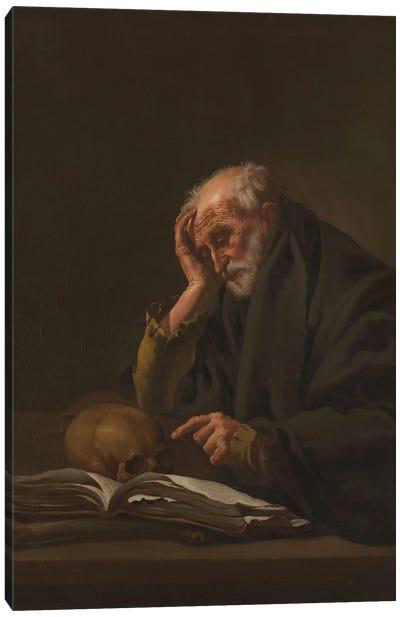 Saint Jerome, C.1621 Canvas Art Print
