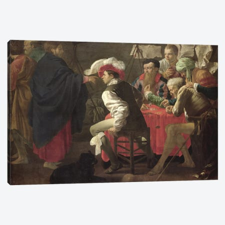 The Calling Of St. Matthew, C.1620 Canvas Print #BMN11914} by Hendrick Ter Brugghen Art Print