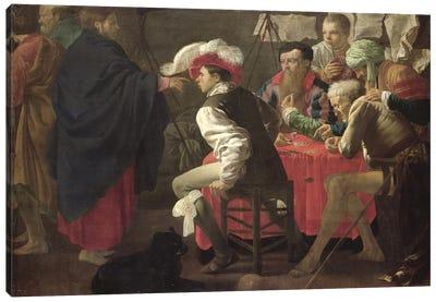 The Calling Of St. Matthew, C.1620 Canvas Art Print