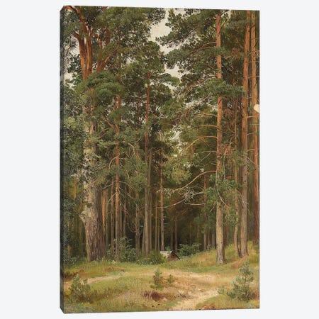 A Summer Day, Merikiul, 1895 Canvas Print #BMN11930} by Ivan Ivanovich Shishkin Canvas Wall Art