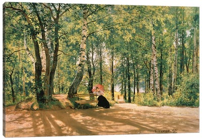 At The Summer Cottage, 1894 Canvas Art Print