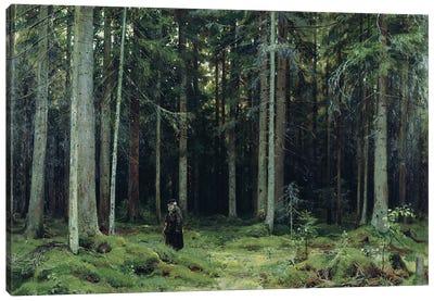 Countess Mordvinov's Forest, 1891 Canvas Art Print