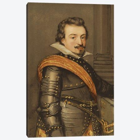 John Viii, Count Of Nassau-Siegen Canvas Print #BMN11948} by Jan Anthonisz Van Ravesteyn Art Print