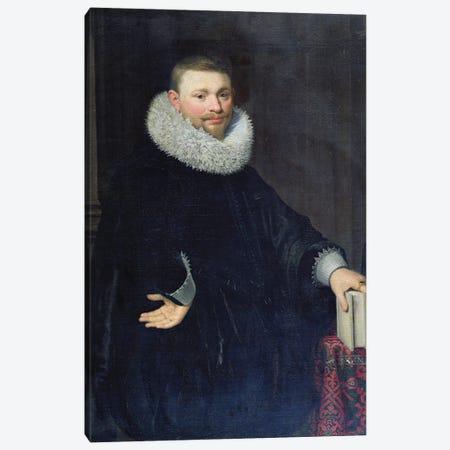 Vrijdags Van Vollenhoven The Younger, 1620 Canvas Print #BMN11952} by Jan Anthonisz Van Ravesteyn Canvas Art