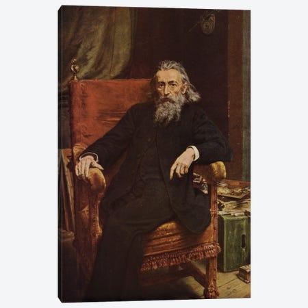 Self-Portrait Of Polish Painter Jan Matejko, 1892 Canvas Print #BMN11958} by Jan Matejko Canvas Art