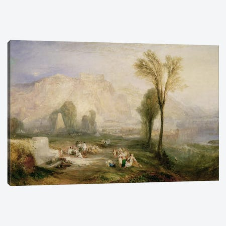 The Bright Stone of Honour  Canvas Print #BMN1195} by J.M.W. Turner Canvas Art Print