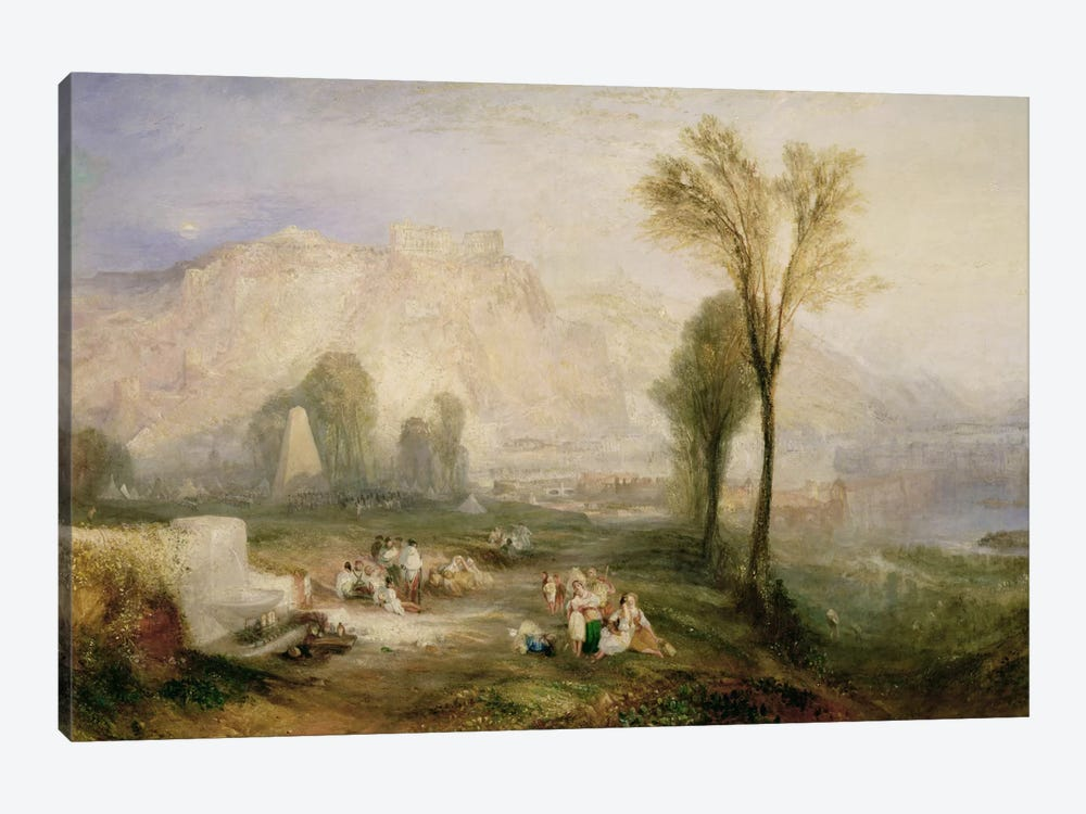 The Bright Stone of Honour  by J.M.W. Turner 1-piece Canvas Artwork