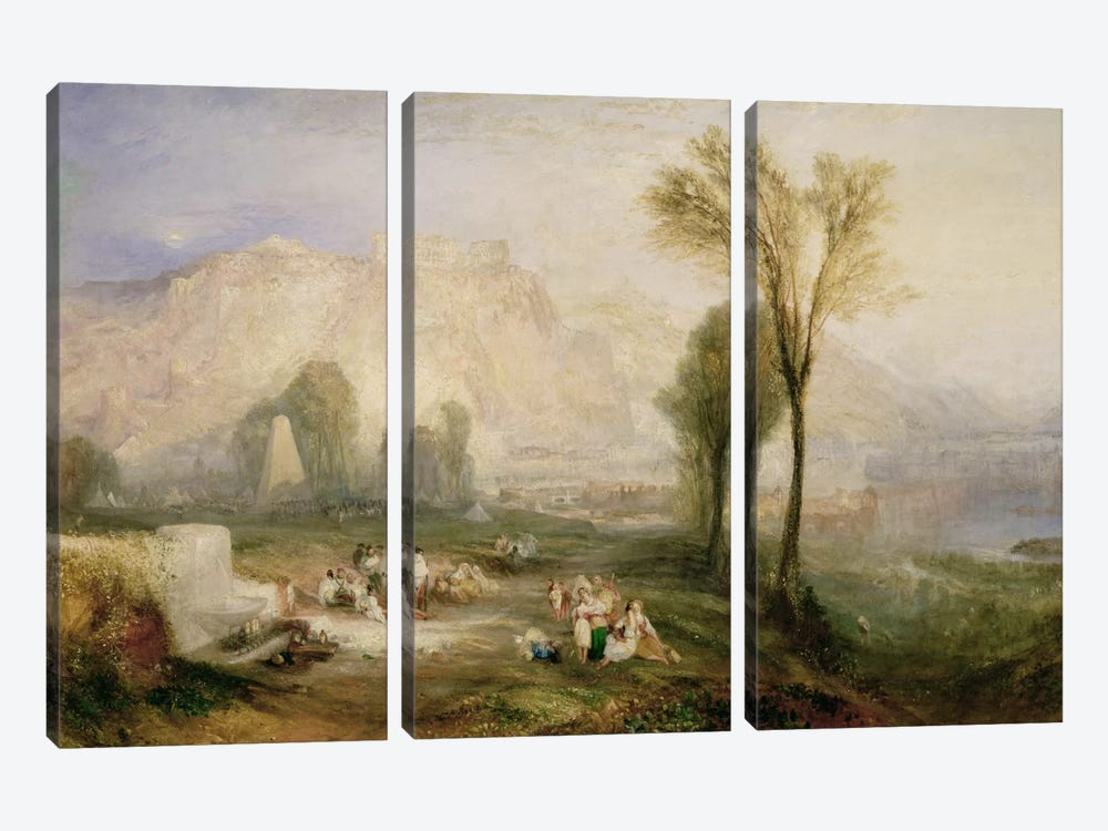 The Bright Stone of Honour  by J.M.W. Turner 3-piece Canvas Wall Art