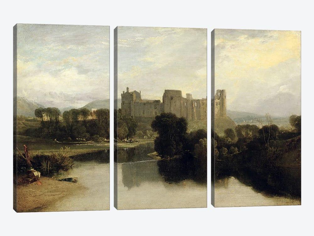 Cockermouth Castle, c.1810 by J.M.W. Turner 3-piece Canvas Art Print