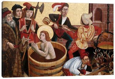 Martyrdom Of St John Canvas Art Print