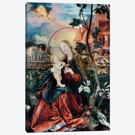 The Stuppach Madonna, 1518 Canvas Print #BMN11999} by Matthias Grünewald Canvas Artwork