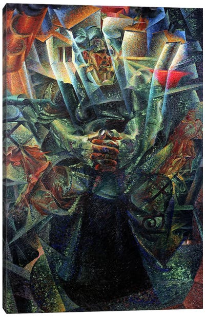 Materia, 1912 (oil on canvas) Canvas Art Print