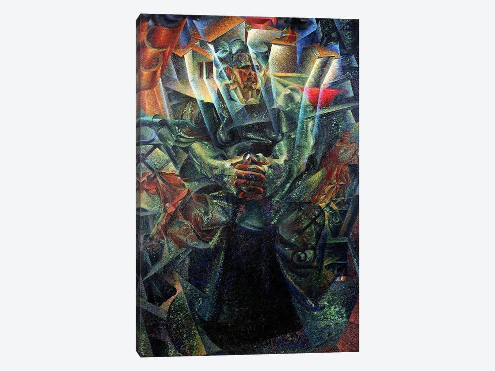 Materia, 1912 (oil on canvas) by Umberto Boccioni 1-piece Canvas Art