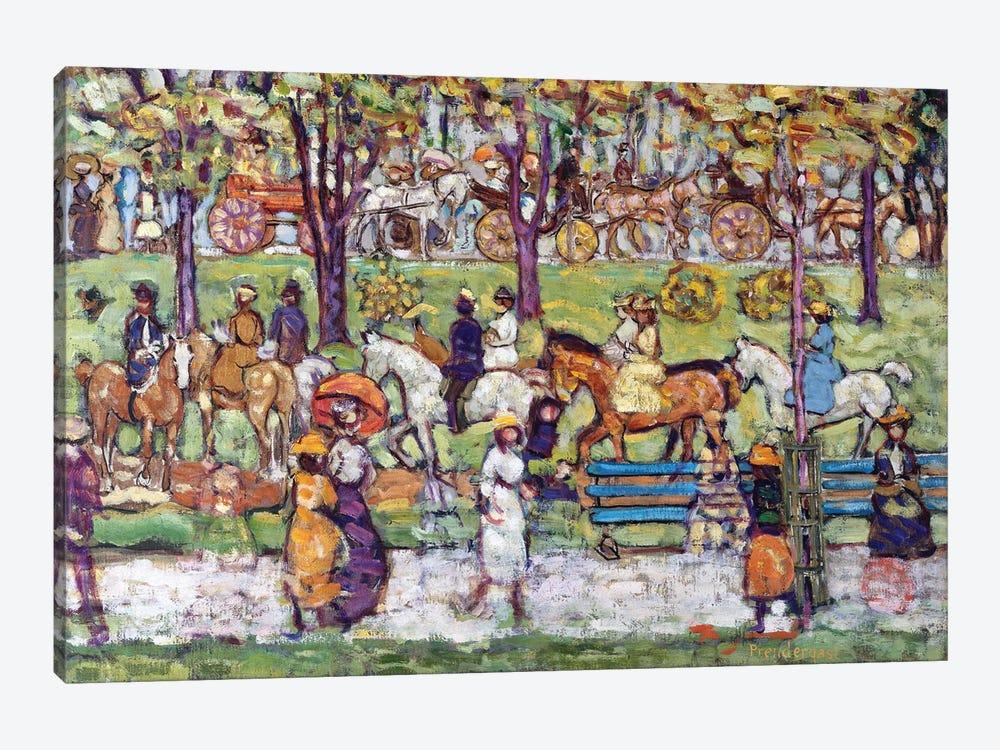Central Park, C.1914-15 by Maurice Brazil Prendergast 1-piece Canvas Wall Art