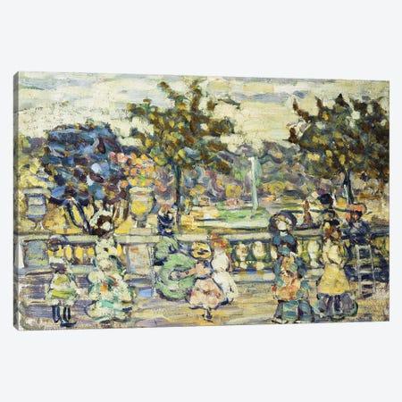 Promenade, Canvas Print #BMN12026} by Maurice Brazil Prendergast Canvas Art Print