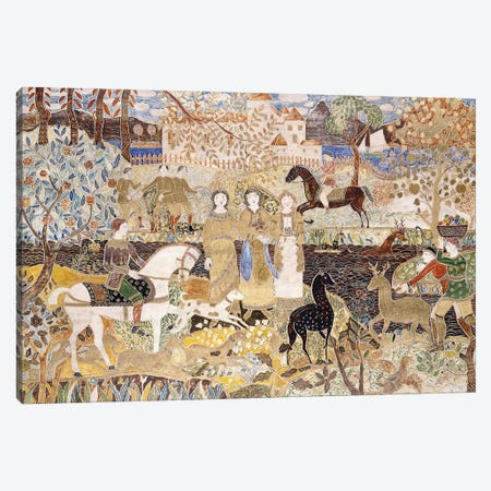 The Spirit Of The Hunt, Canvas Print #BMN12034} by Maurice Brazil Prendergast Canvas Art