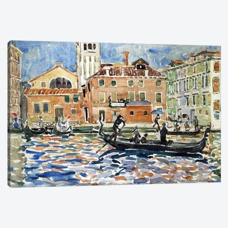 Venice, C.1909 Canvas Print #BMN12036} by Maurice Brazil Prendergast Canvas Art