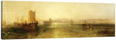 Brighton from the Sea, c.1829 Canvas Art Print