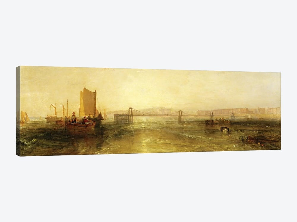 Brighton from the Sea, c.1829 by J.M.W. Turner 1-piece Art Print