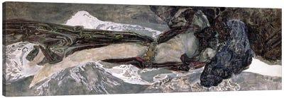 The Flying Demon, 1899 Canvas Art Print