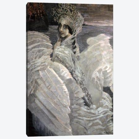 The Swan Princess, 1900 Canvas Print #BMN12063} by Mikhail Aleksandrovich Vrubel Canvas Wall Art