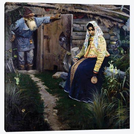 The Love Potion Par Nesterov, 1888 Canvas Print #BMN12071} by Mikhail Vasilievich Nesterov Canvas Print
