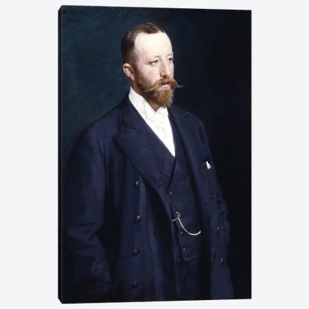 Portrait Of A Gentleman, 1898 Canvas Print #BMN12090} by Peder Severin Kroyer Art Print