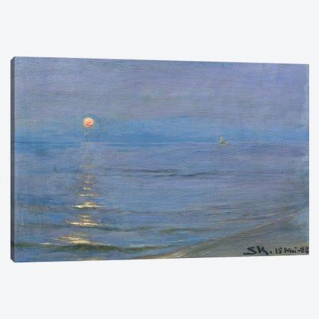Summer Evening, Skagen, 1908 Canvas Print #BMN12098} by Peder Severin Kroyer Canvas Print